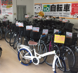 自転車コーナー